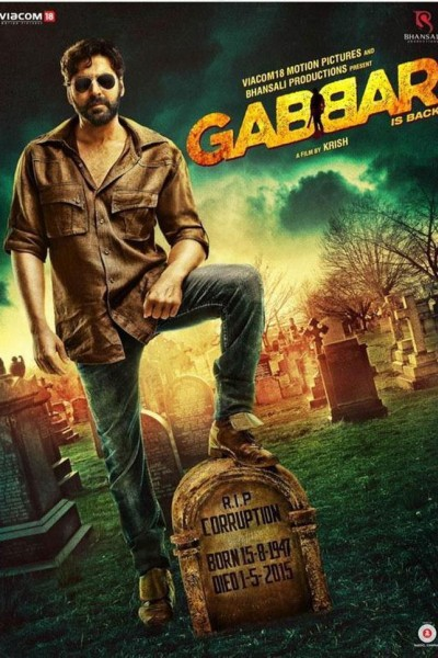 Caratula, cartel, poster o portada de Gabbar is Back