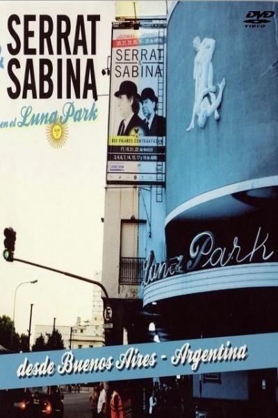 Caratula, cartel, poster o portada de Serrat & Sabina en el Luna Park