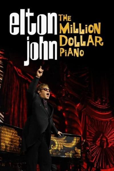 Caratula, cartel, poster o portada de Elton John: The Million Dollar Piano