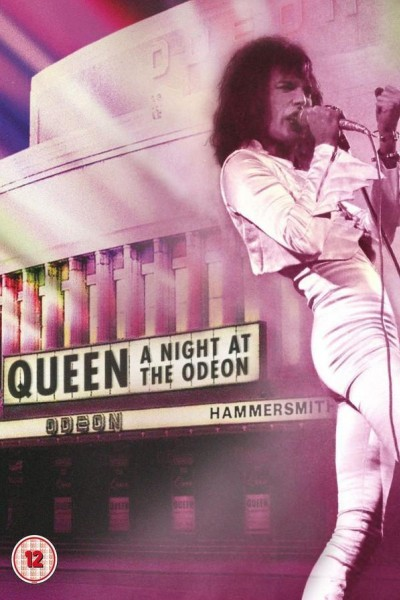 Caratula, cartel, poster o portada de Queen ‎– A Night At The Odeon - Hammersmith 1975