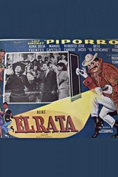 Caratula, cartel, poster o portada de Alias \'El rata\'