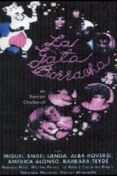 Caratula, cartel, poster o portada de La gata borracha