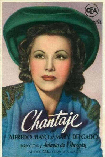Caratula, cartel, poster o portada de Chantaje