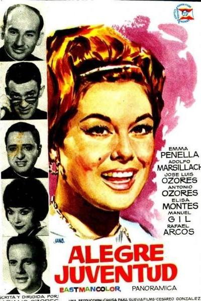 Caratula, cartel, poster o portada de Alegre juventud