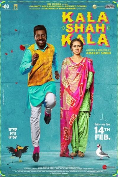 Caratula, cartel, poster o portada de Kala Shah Kala