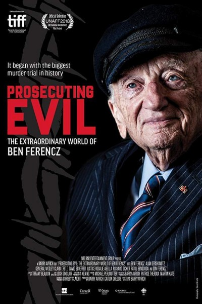 Caratula, cartel, poster o portada de Prosecuting Evil: The Extraordinary World of Ben Ferencz