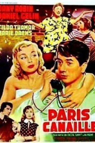 Caratula, cartel, poster o portada de Paris canaille