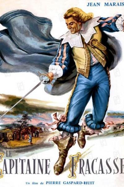 Caratula, cartel, poster o portada de El capitán Fracassa