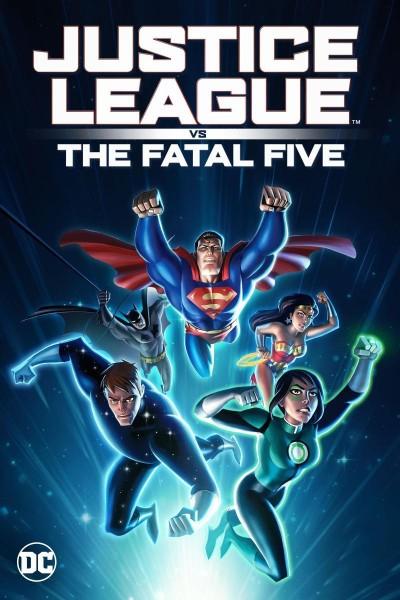 Caratula, cartel, poster o portada de Justice League vs the Fatal Five