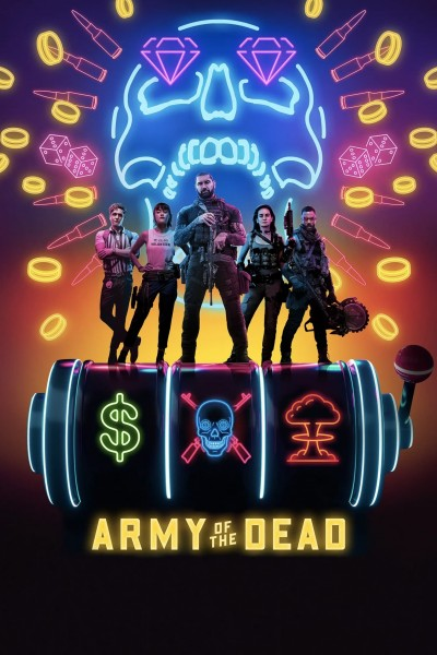 Caratula, cartel, poster o portada de Ejército de los muertos