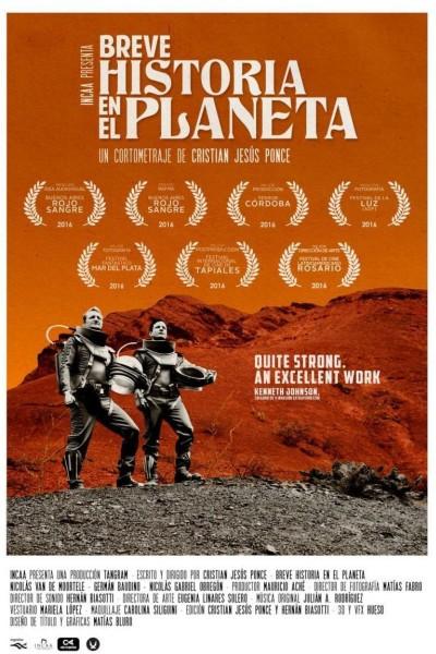 Caratula, cartel, poster o portada de Breve historia en el planeta