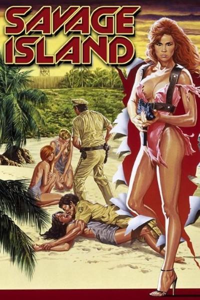 Caratula, cartel, poster o portada de Los piratas de las islas salvajes