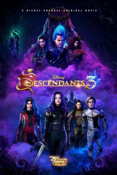 Caratula, cartel, poster o portada de Los Descendientes 3