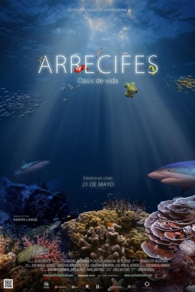 Caratula, cartel, poster o portada de Arrecifes. Oasis de vida