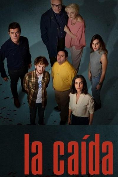 Caratula, cartel, poster o portada de La caída