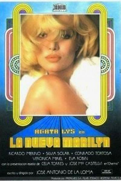 Caratula, cartel, poster o portada de La nueva Marilyn