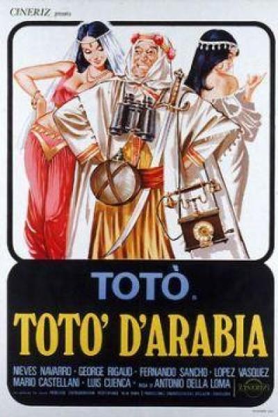 Caratula, cartel, poster o portada de Toto de Arabia
