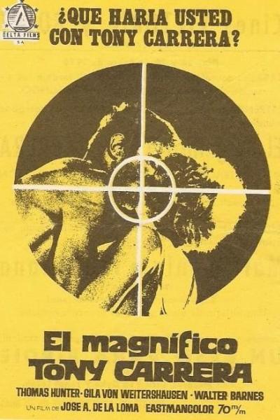 Caratula, cartel, poster o portada de El magnífico Tony Carrera