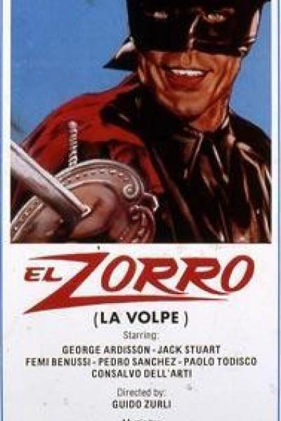 Caratula, cartel, poster o portada de La espada del Zorro