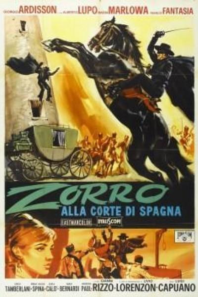 Caratula, cartel, poster o portada de El Zorro al servicio de la reina