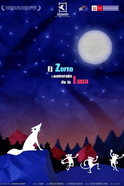 Caratula, cartel, poster o portada de El zorro enamorado de la luna