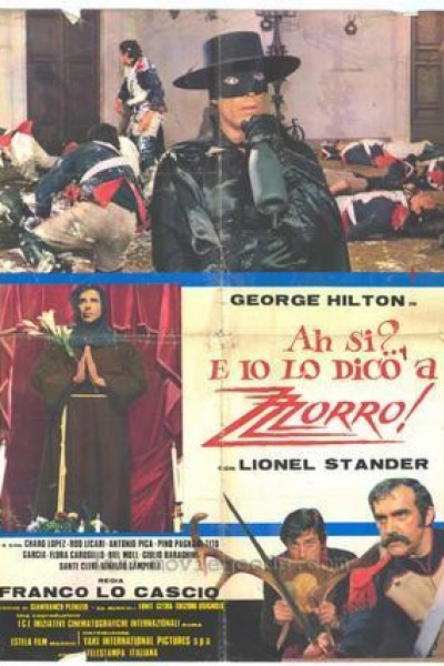 Caratula, cartel, poster o portada de Las nuevas aventuras del Zorro