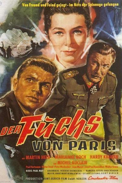 Caratula, cartel, poster o portada de El Zorro de París