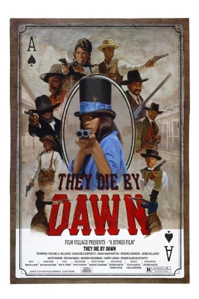 Caratula, cartel, poster o portada de They Die by Dawn