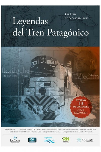 Caratula, cartel, poster o portada de Leyendas del tren patagónico