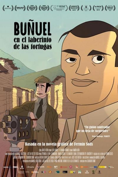 Caratula, cartel, poster o portada de Buñuel en el laberinto de las tortugas