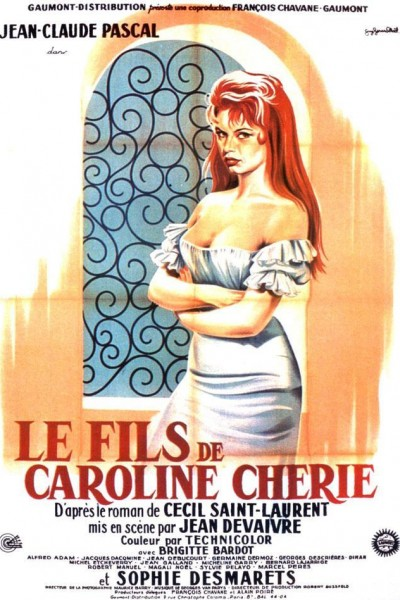 Caratula, cartel, poster o portada de Le fils de Caroline chérie