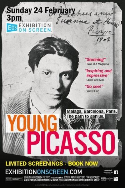 Caratula, cartel, poster o portada de El joven Picasso