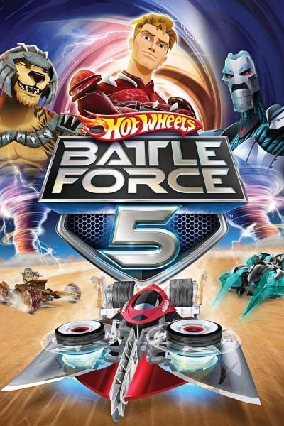 Caratula, cartel, poster o portada de Hot Wheels: Battle Force 5
