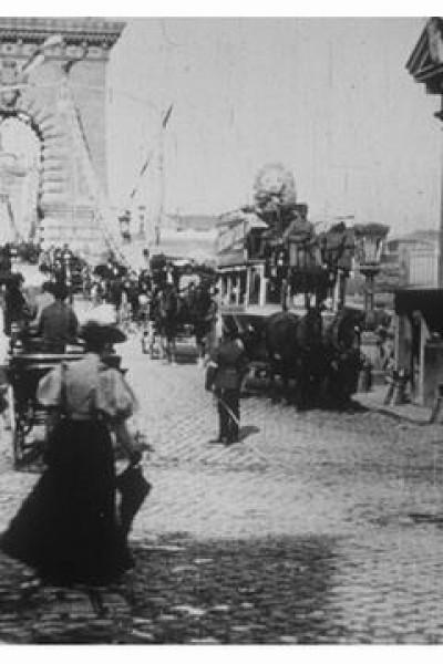 Caratula, cartel, poster o portada de Budapest, pont suspendu