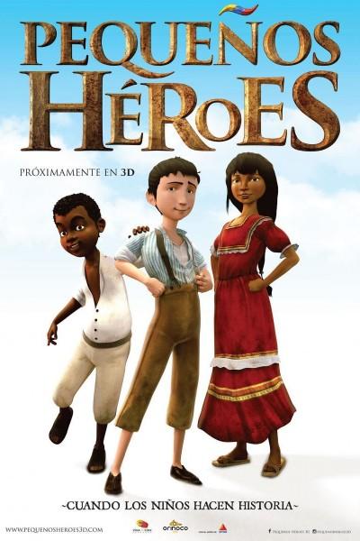 Caratula, cartel, poster o portada de Pequeños héroes