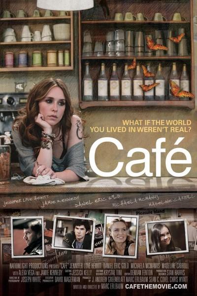 Caratula, cartel, poster o portada de Café