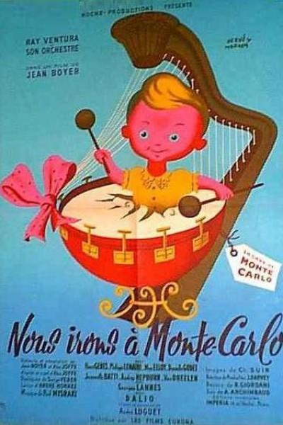 Caratula, cartel, poster o portada de Americanos en Montecarlo