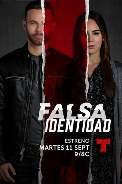 Caratula, cartel, poster o portada de Falsa identidad