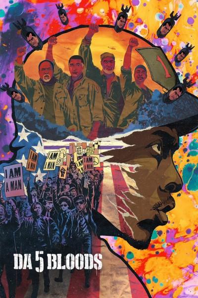 Caratula, cartel, poster o portada de Da 5 Bloods: Hermanos de armas