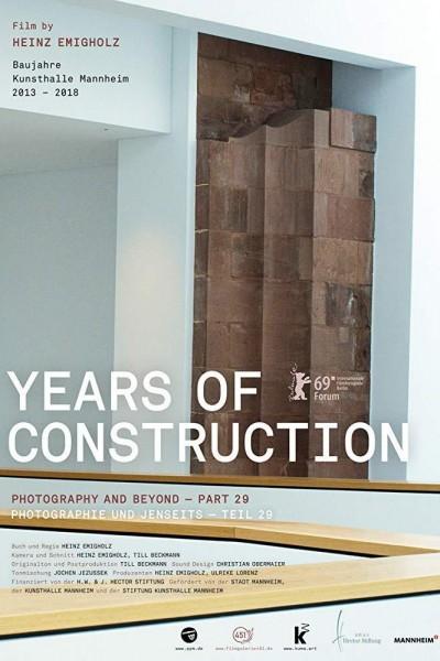 Caratula, cartel, poster o portada de Years of Construction