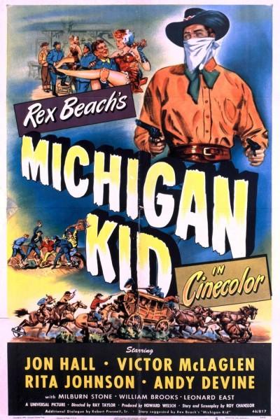 Caratula, cartel, poster o portada de El chico de Michigan