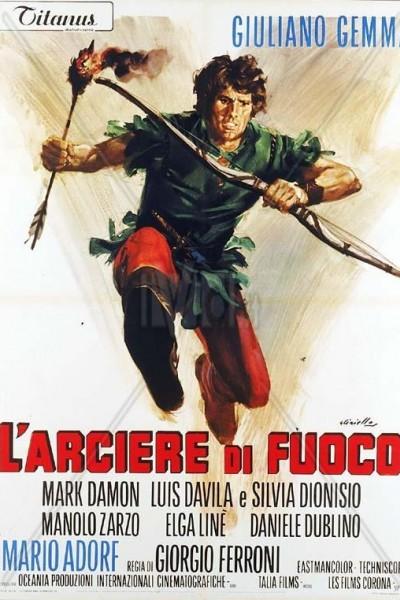 Caratula, cartel, poster o portada de El arquero de Sherwood