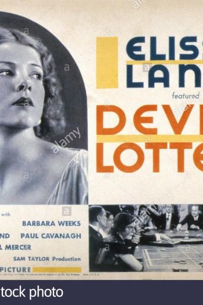 Caratula, cartel, poster o portada de La lotería del diablo