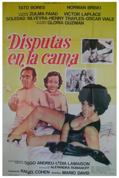 Caratula, cartel, poster o portada de Disputas en la cama