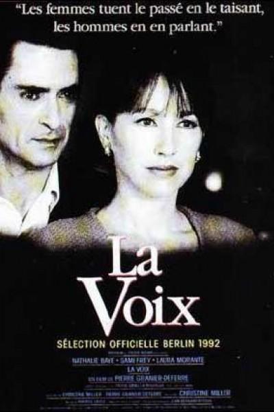 Caratula, cartel, poster o portada de La voix