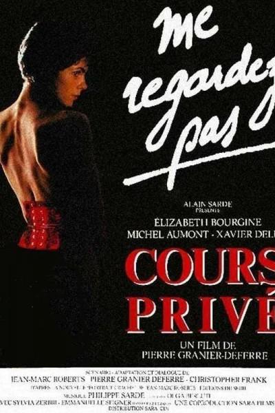 Caratula, cartel, poster o portada de Cours privé