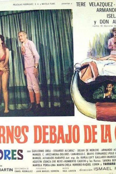 Caratula, cartel, poster o portada de Cuernos debajo de la cama