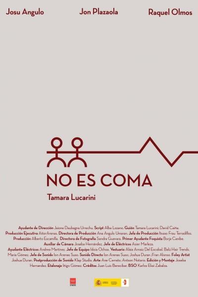 Caratula, cartel, poster o portada de No es coma