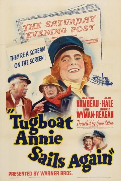 Caratula, cartel, poster o portada de Tugboat Annie Sails Again