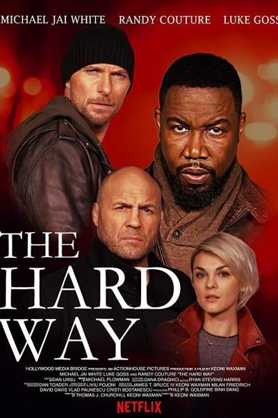 Caratula, cartel, poster o portada de The Hard Way